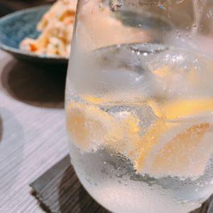 手作り生レモンサワー